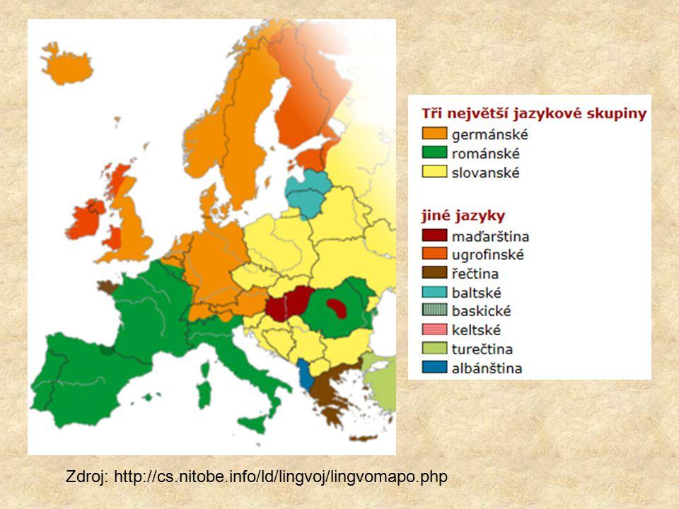 Zdroj: http://cs.nitobe.info/ld/lingvoj/lingvomapo.php