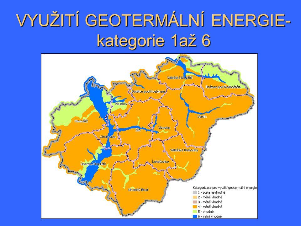 VYUŽITÍ GEOTERMÁLNÍ ENERGIE- kategorie 1až 6