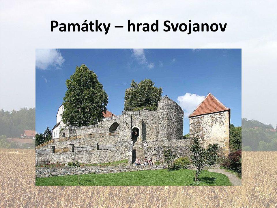Památky – hrad Svojanov