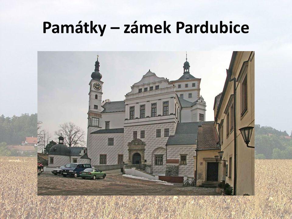 Památky – zámek Pardubice