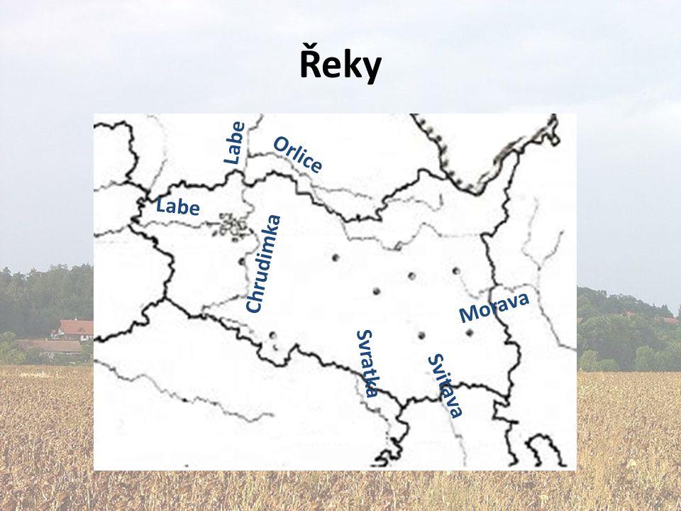 Půdy a zalesnění V Polabí kvalitní půdy V kraji převládají pahorkatiny a vrchoviny -> chudší půdy Zalesněné plochy hlavně v Orlických horách a na Českomoravské vrchovině – jehličnaté monokultury