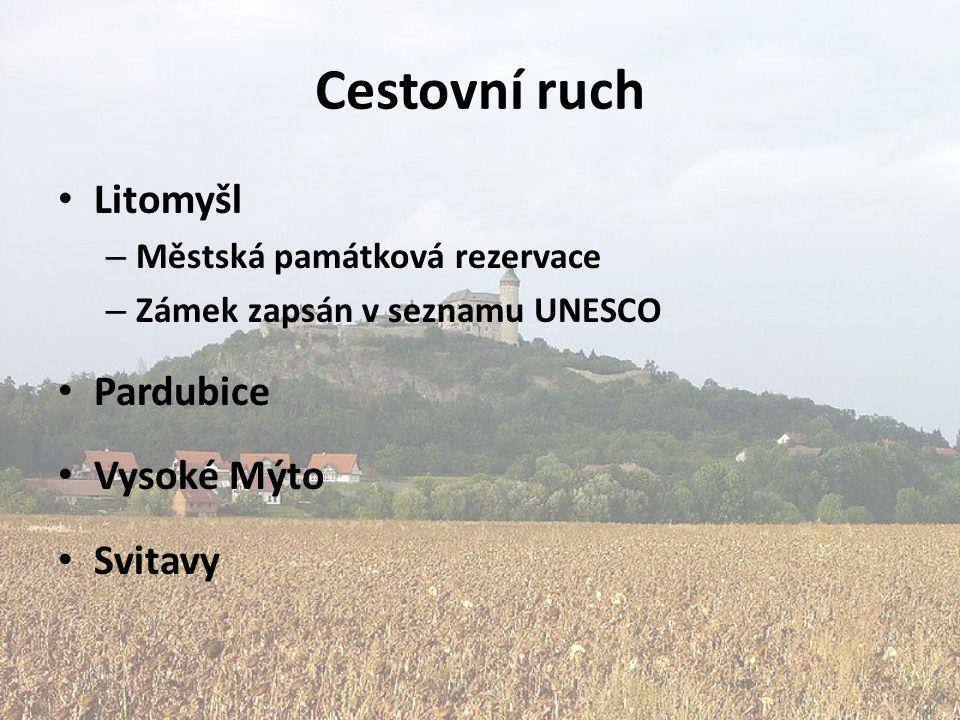 Cestovní ruch Litomyšl – Městská památková rezervace – Zámek zapsán v seznamu UNESCO Pardubice Vysoké Mýto Svitavy