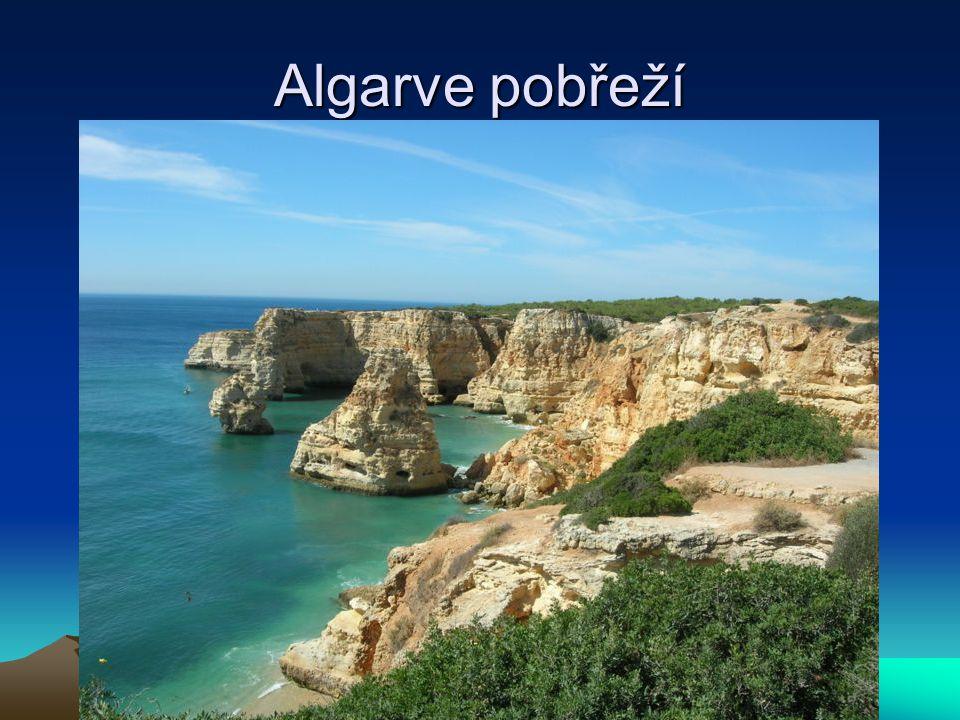 Algarve pobřeží