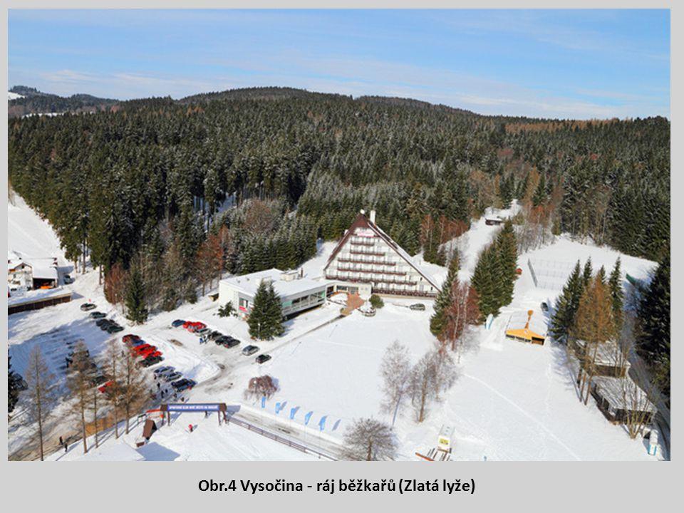 Obr.4 Vysočina - ráj běžkařů (Zlatá lyže)
