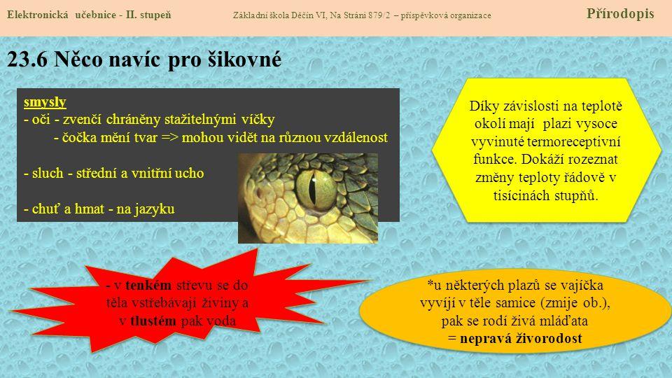 23.6 Něco navíc pro šikovné Elektronická učebnice - II.