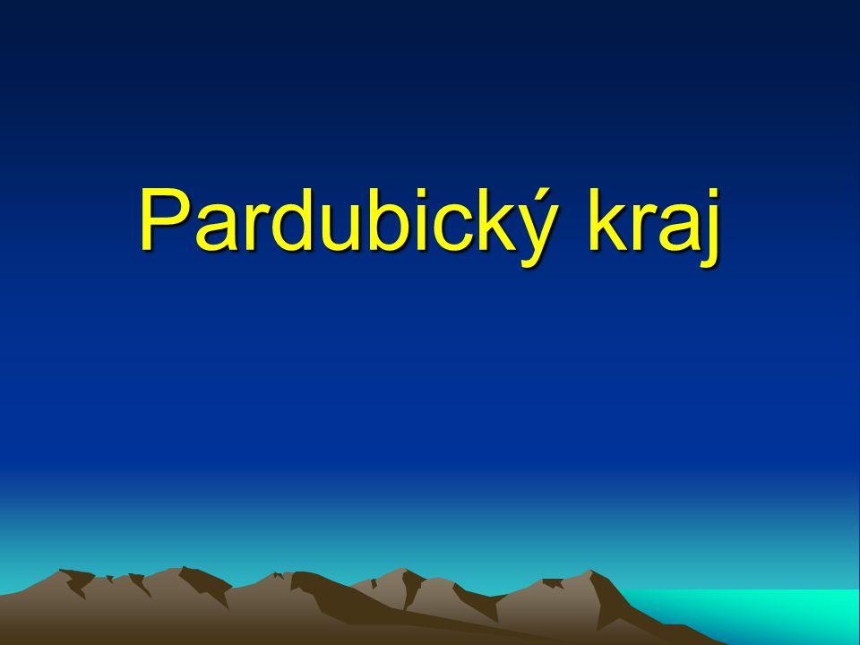 Poloha Pardubický kraj leží na východě Čech.