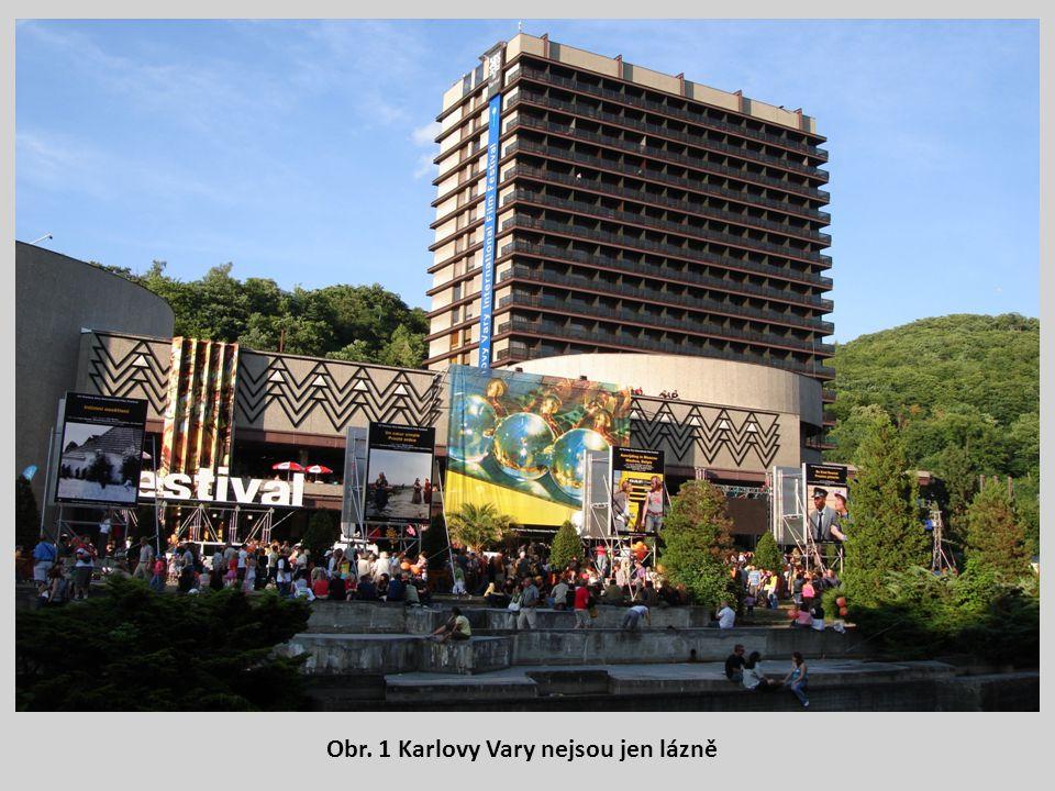 Obr. 1 Karlovy Vary nejsou jen lázně