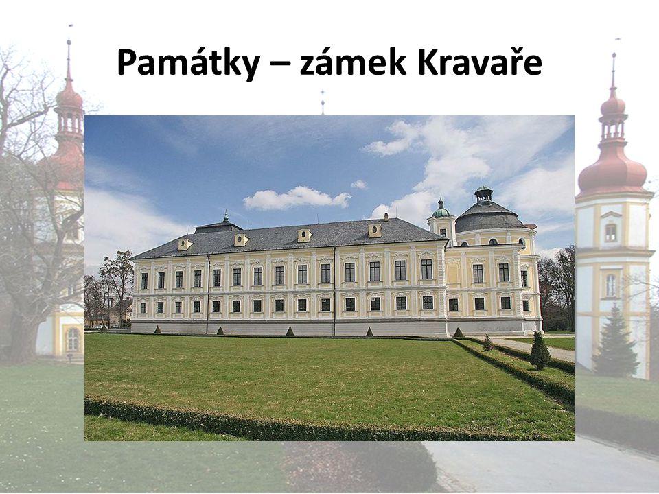 Památky – zámek Kravaře