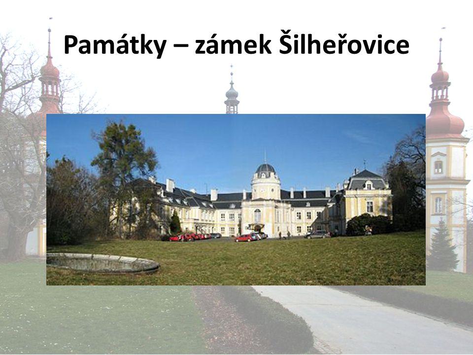 Památky – zámek Šilheřovice