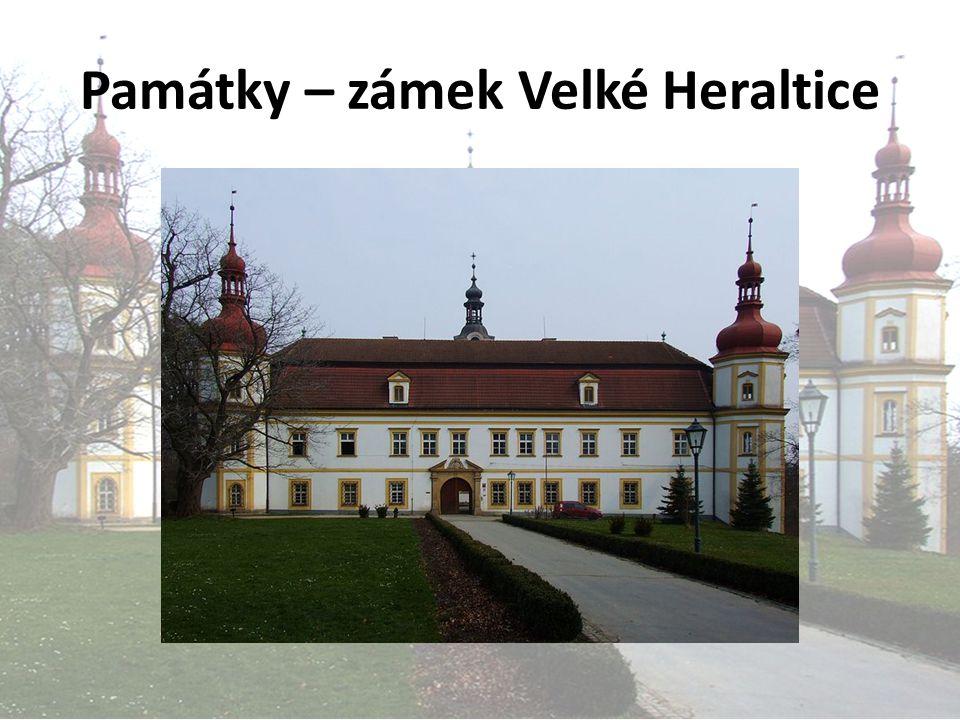 Památky – zámek Velké Heraltice