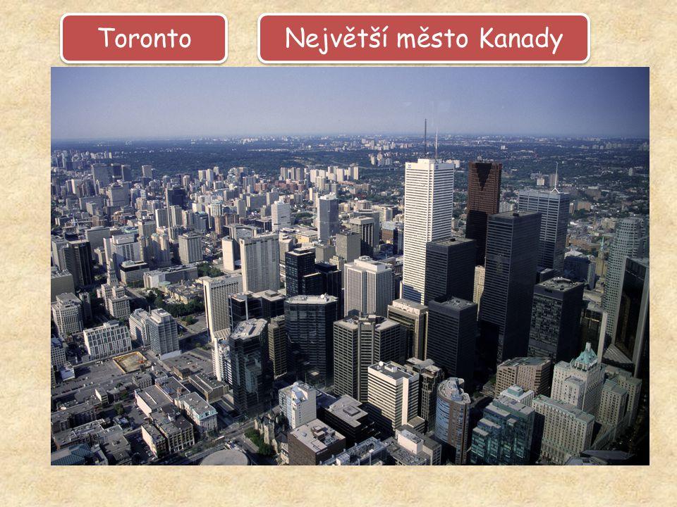 Největší město Kanady