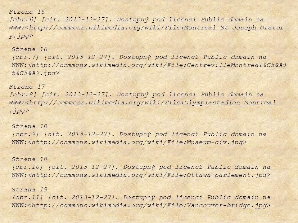 Strana 16 [obr.7] [cit. 2013-12-27]. Dostupný pod licencí Public domain na WWW: Strana 17 [obr.8] [cit. 2013-12-27]. Dostupný pod licencí Public domai