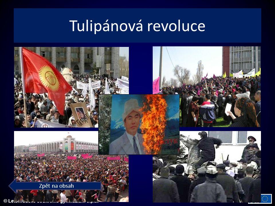 © Letohradské soukromé gymnázium o.p.s. Tulipánová revoluce Zpět na obsah