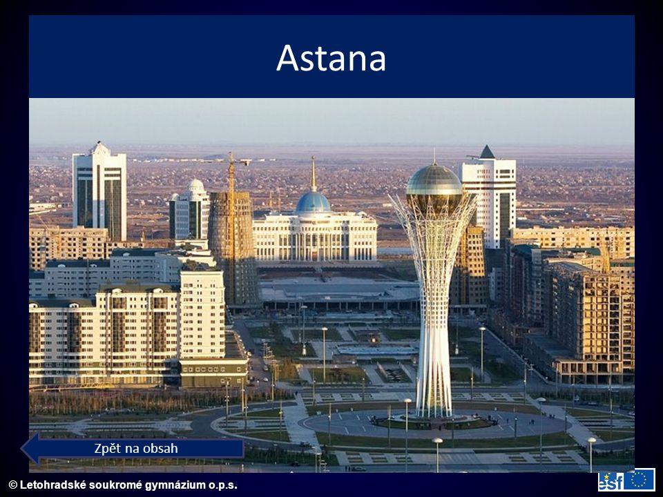 © Letohradské soukromé gymnázium o.p.s. Astana Zpět na obsah