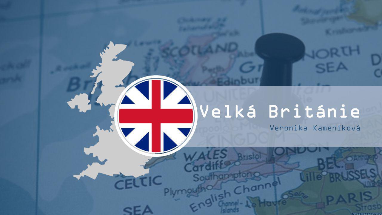 Velká Británie Veronika Kameníková