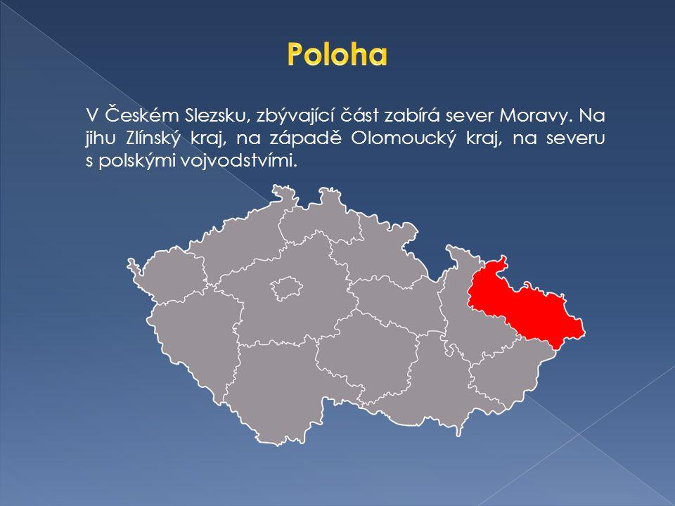 Kraj vznikl v roce 2000.V letech 1949-1960 součástí kraje Ostravského.