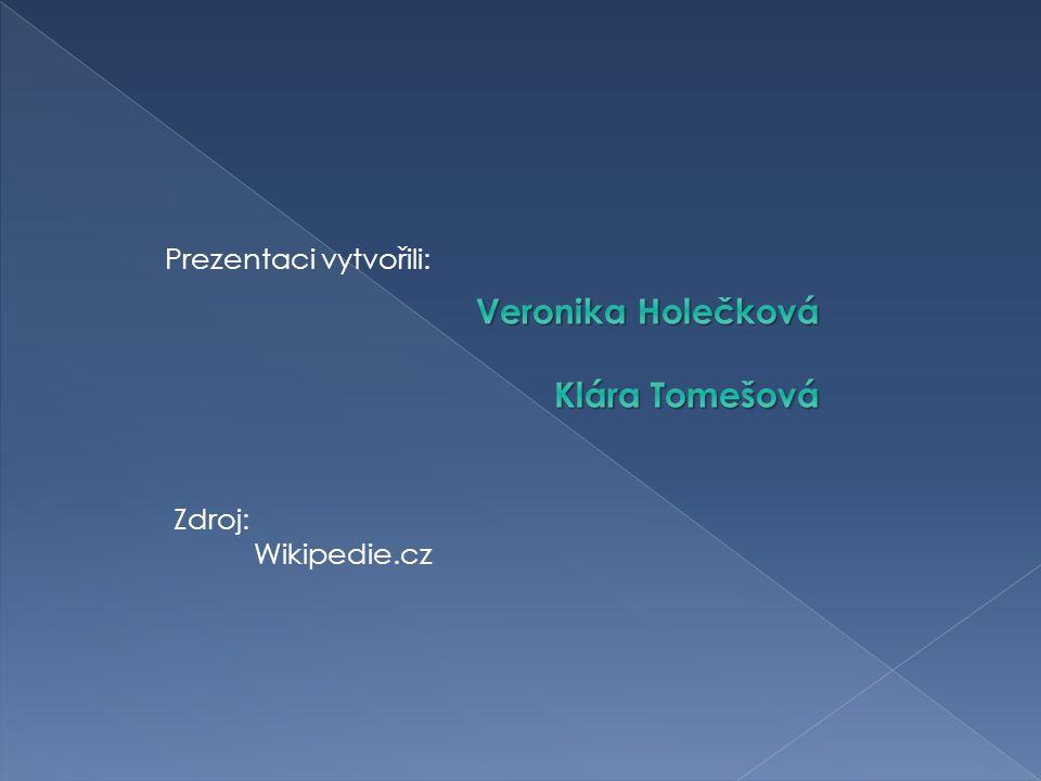 Zdroj: Wikipedie.cz Prezentaci vytvořili: