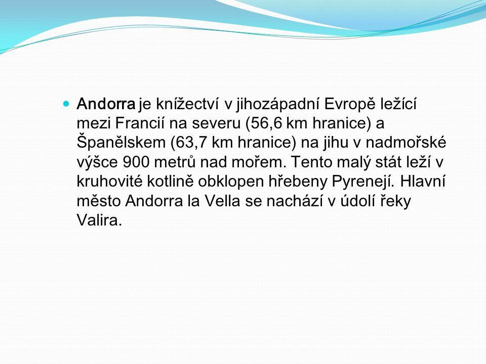 Rozloha: 468 km² Administrativní dělení: 7 farností Nejníže položené místo: Riu Runer, 840 m.