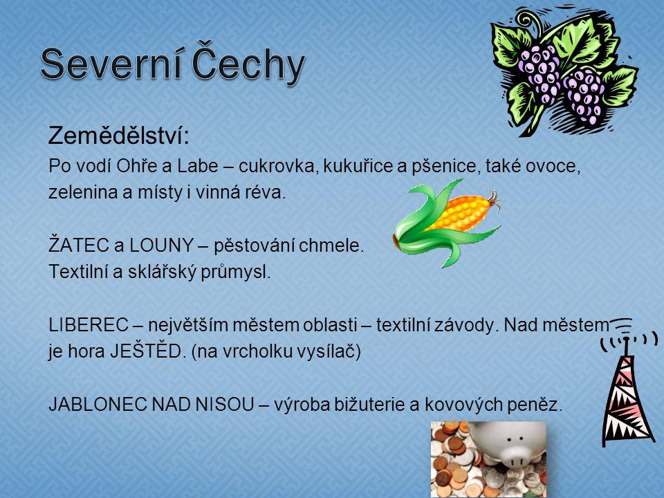 Kraj severních Čech je nejvíce zalidněnou oblastí ČR.