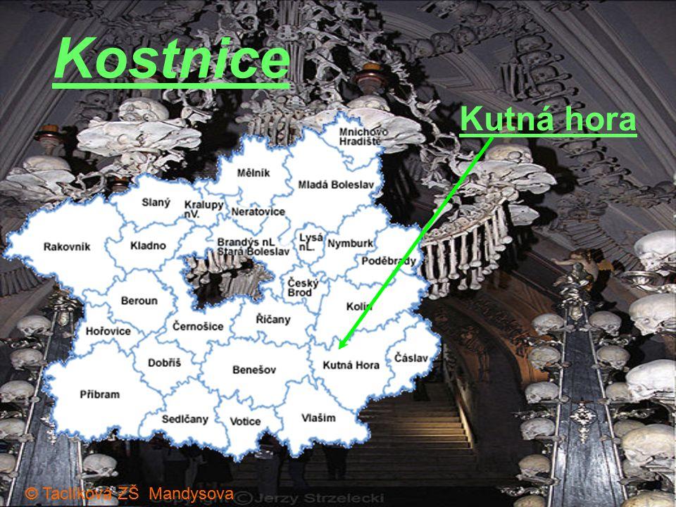 Kutná hora Kostnice © Taclíková ZŠ Mandysova