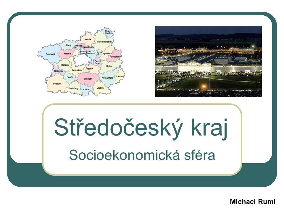 Středočeský kraj Socioekonomická sféra Michael Ruml