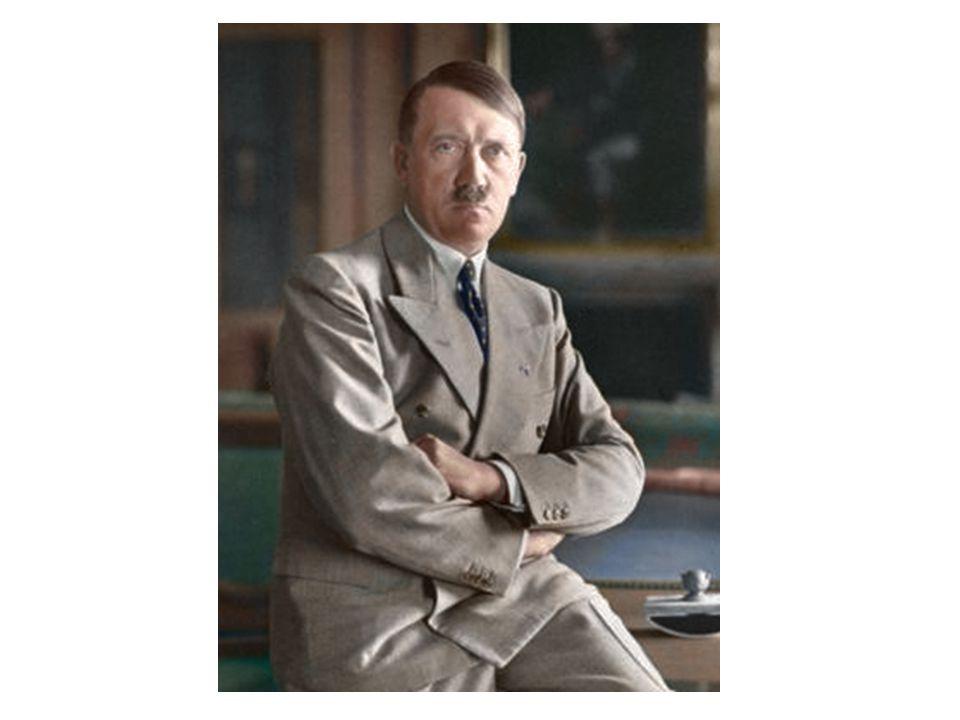 Na začátku Pocházel z Rakouska Měl velmi těžké dětství Chtěl se věnovat umění Byl obyčejným vojákem v 1SV Nikdy nepřijal porážku v roce 1918 Angažoval se ve vznikající nacistické straně