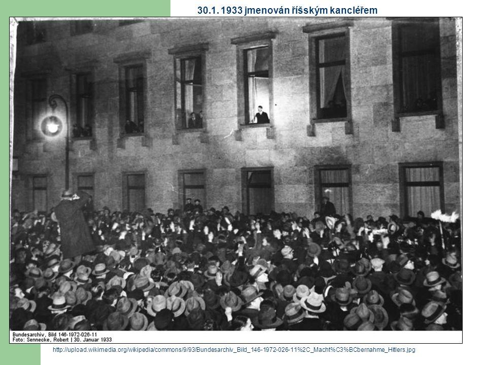 http://upload.wikimedia.org/wikipedia/commons/9/93/Bundesarchiv_Bild_146-1972-026-11%2C_Macht%C3%BCbernahme_Hitlers.jpg 30.1. 1933 jmenován říšským ka