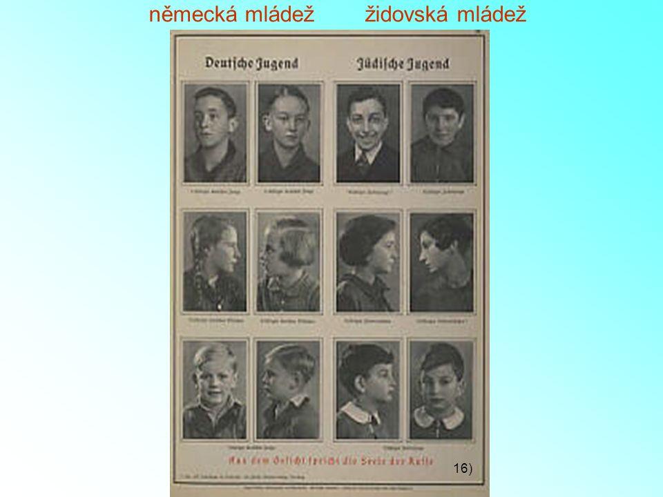 německá mládež židovská mládež 16)