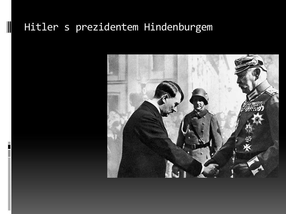 """Nacistický mocenský aparát  strana – NSDAP  SA – ozbrojené oddíly NSDAP  """"hnědé košile  likvidace vedení SA 1934 (""""noc dlouhých nožů"""
