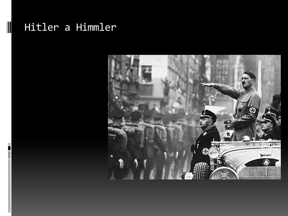 Hitler a Himmler