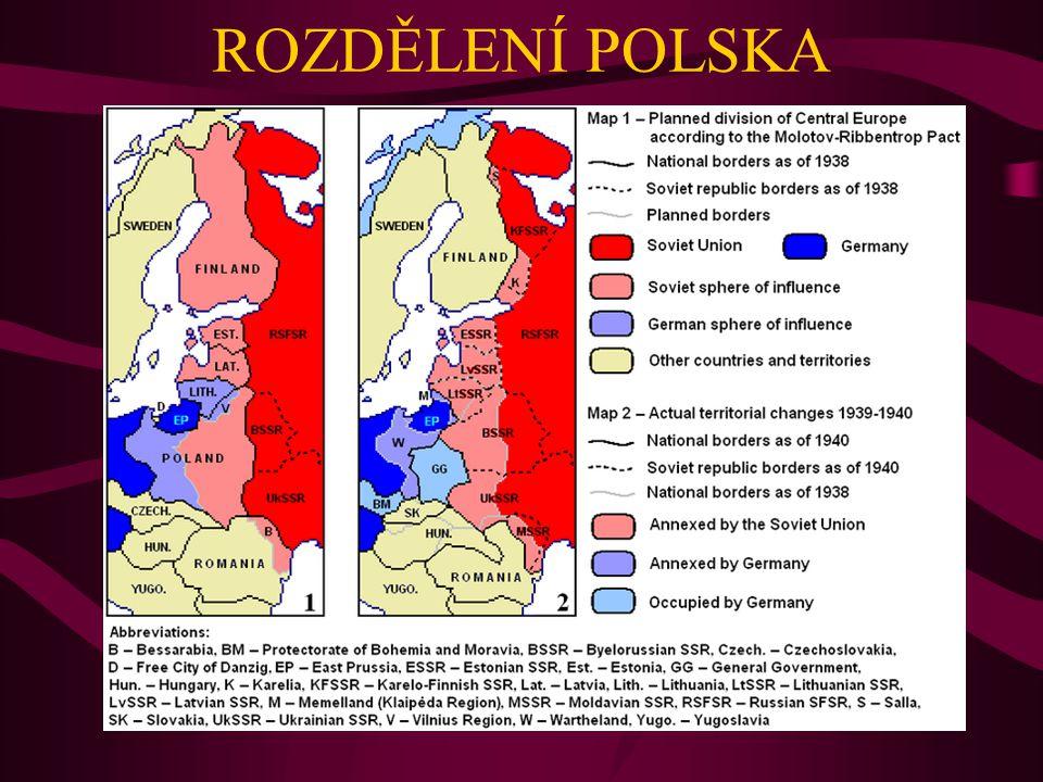ROZDĚLENÍ POLSKA