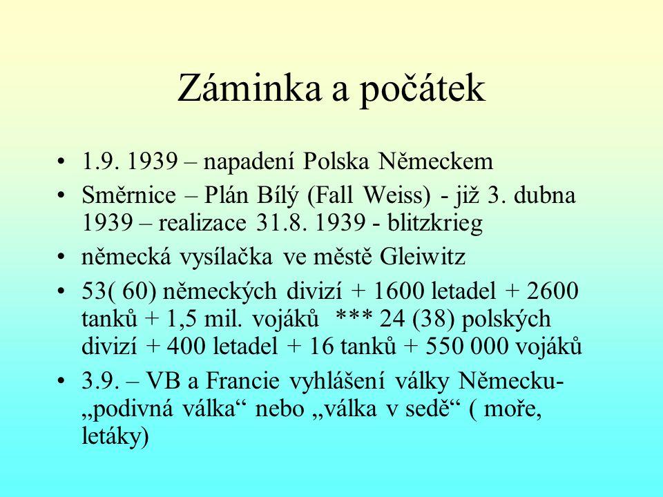 17.9. 1939 – SSSR napadl Polsko – Katyně 28. 9.