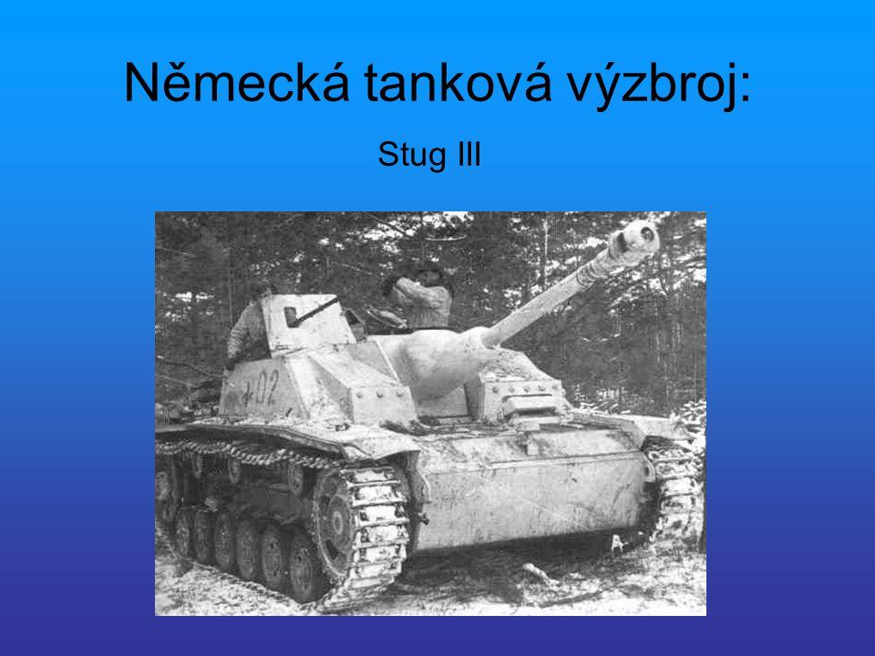 Německá tanková výzbroj: Stug III