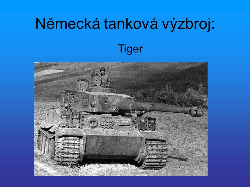 Německá tanková výzbroj: Panter