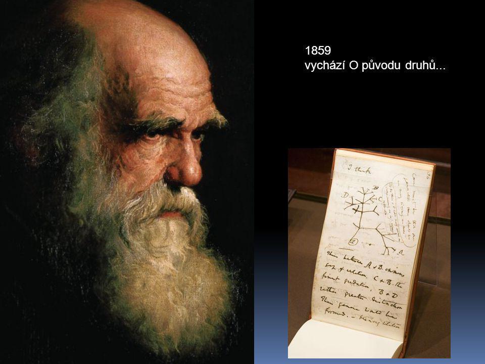 1859 vychází O původu druhů...