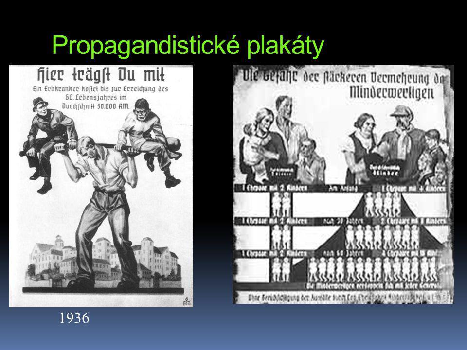 Propagandistické plakáty 1936