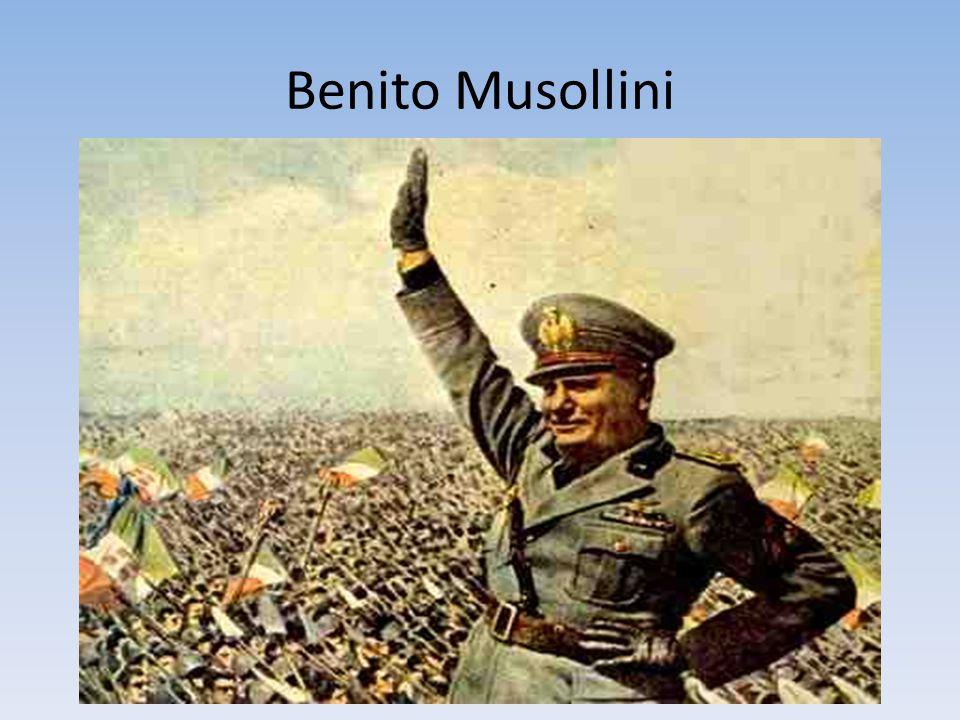 Benito Musollini