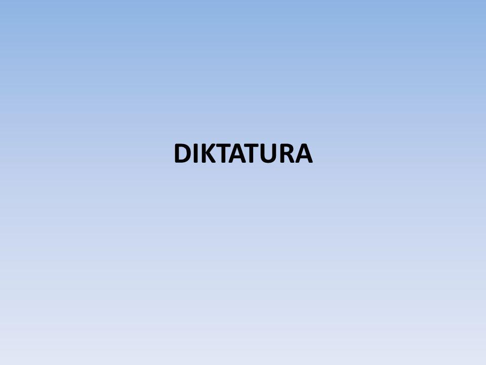 DIKTATURA