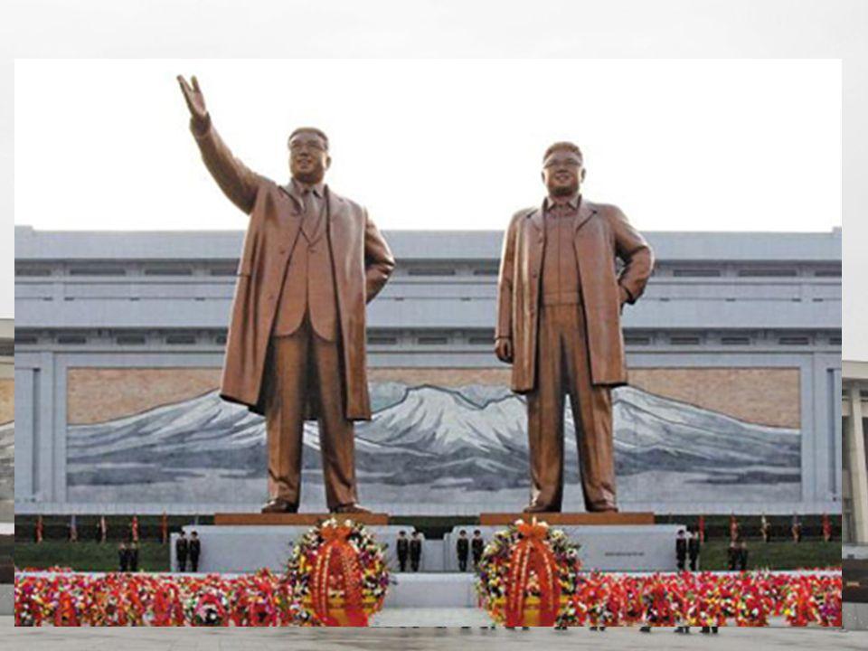 Severní Korea (KLDR,Kimland) www.ceskatelevize.cz Dědičná diktatura s kultem osobnosti tzv.