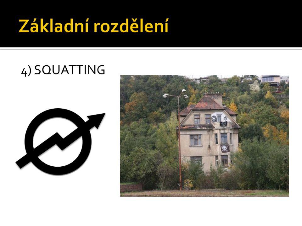 4) SQUATTING