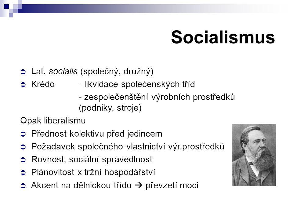 Socialismus  Lat.
