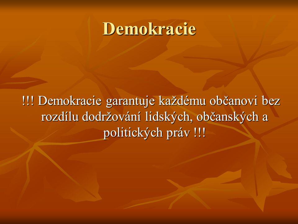 Demokracie !!.