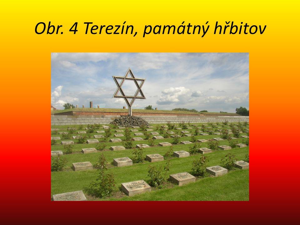 Obr. 4 Terezín, památný hřbitov