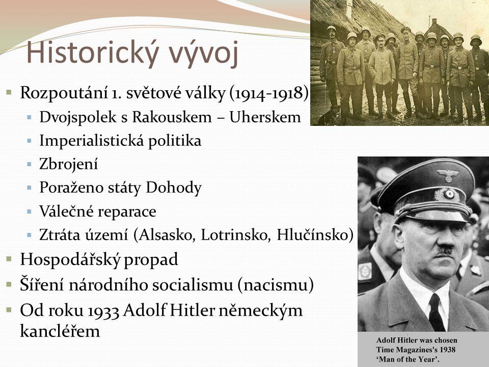 Historický vývoj  Rozpoutání 1.