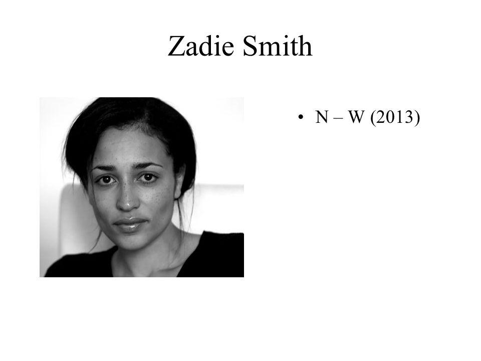 Zadie Smith N – W (2013)
