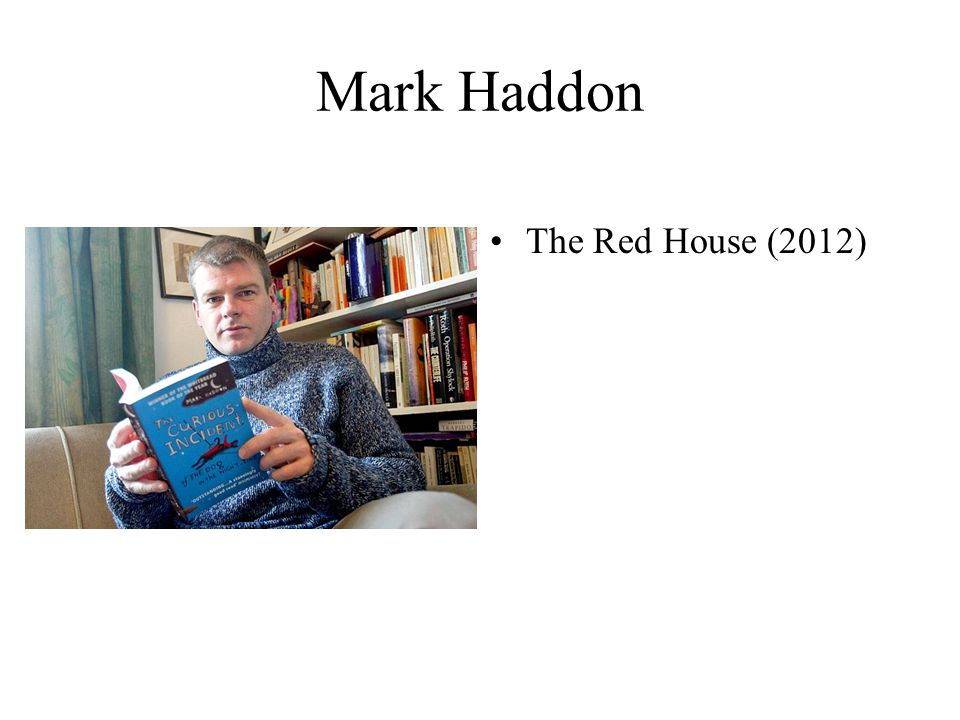 Mark Haddon The Red House (2012)