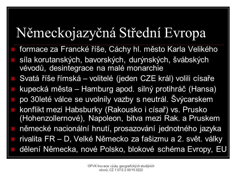 Německojazyčná Střední Evropa formace za Francké říše, Cáchy hl.