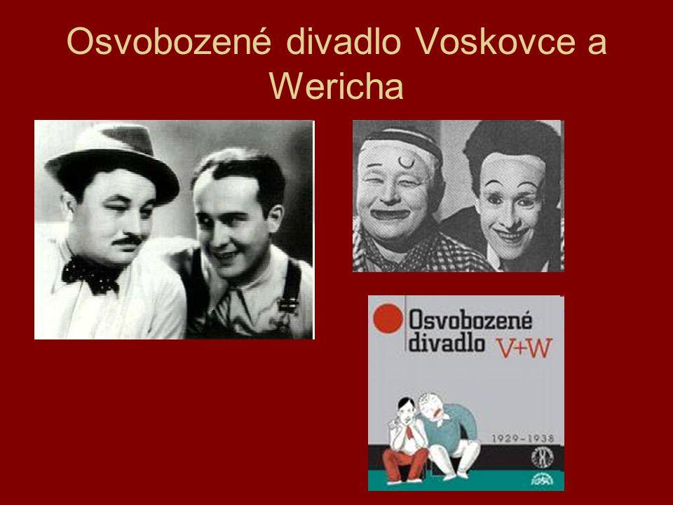 Osvobozené divadlo Voskovce a Wericha