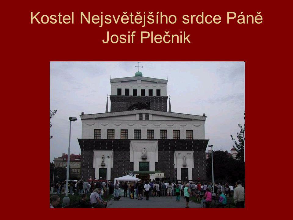 Kostel Nejsvětějšího srdce Páně Josif Plečnik