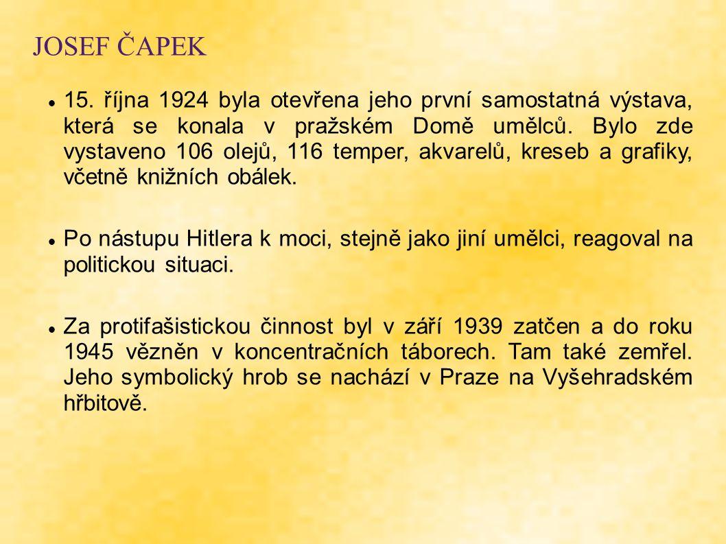 JOSEF ČAPEK 15.